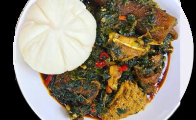 NIGERIAN AFANG SOUP RECIPE