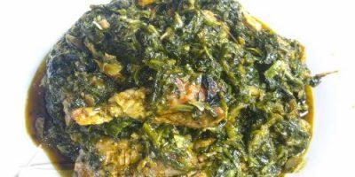 THE NIGERIAN VEGETABLE SOUP EDIKANG IKONG