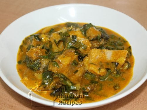 HOW TO COOK OHA SOUP