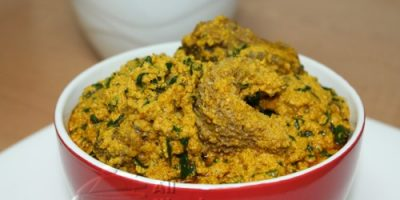 NIGERIAN EGUSI SOUP (FRIED METHOD)