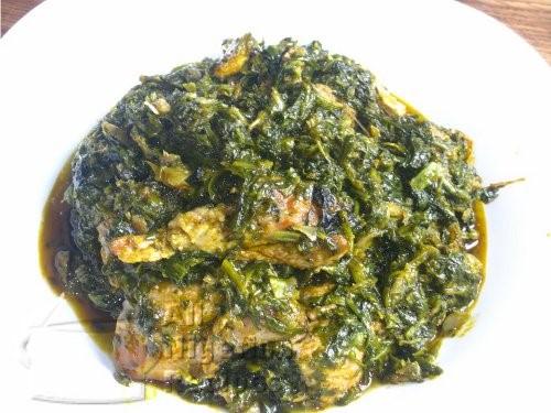 NIGERIAN VEGETABLE SOUP EDIKANG IKONG