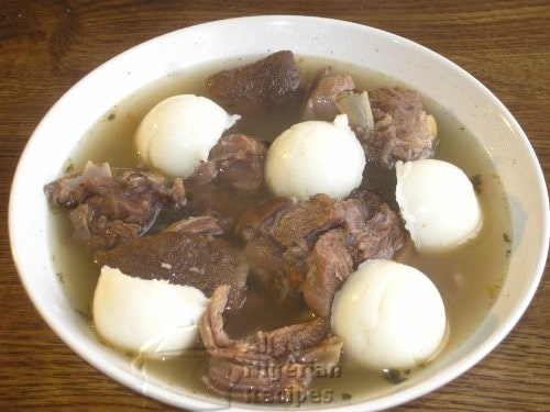 Nigerian Goat Meat Pepper Soup