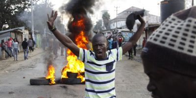 Opposition Protesters Clash With Riot Police In Kenya