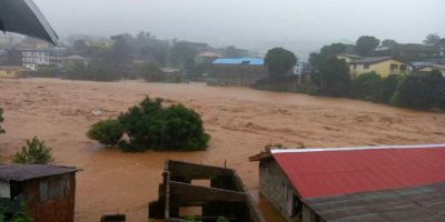 More Than 300 People Have Died Following A Huge Mudslide And Flooding.