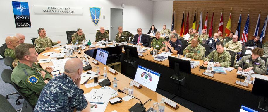 NATO Chairman: Russia Preparing For Big War