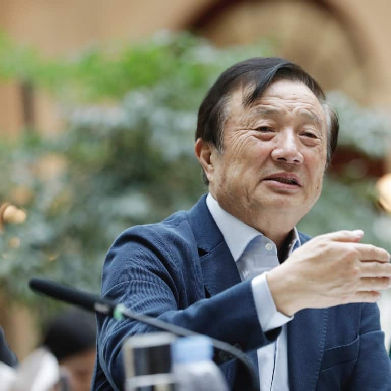 Huawei's Founder Speaks To BBC