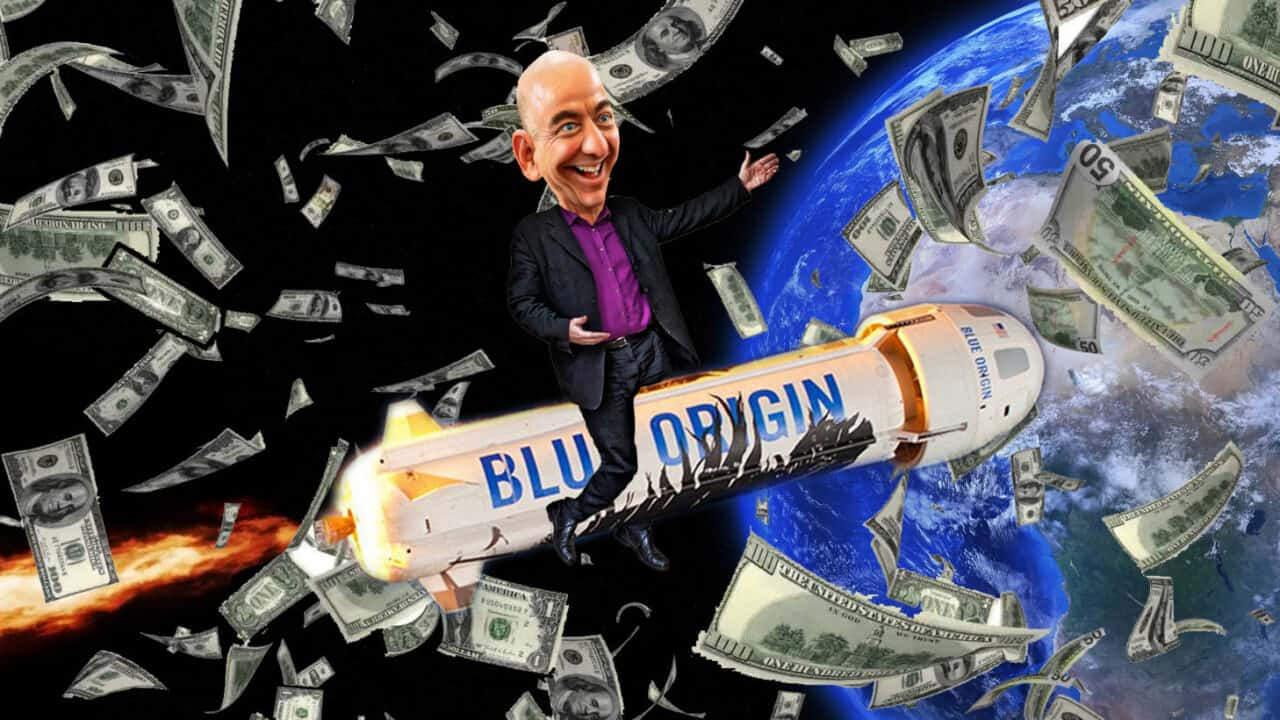Bezos Dreams Of Our Space Future