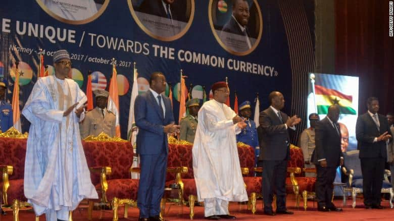 West African Countries Choose New 'ECO' Single Trade Currency
