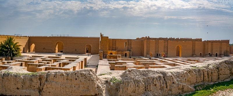 Ancient Iraqi City Of Babylon