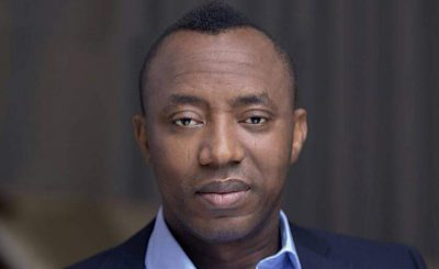 Pressure Mounts On Buhari, Over Sowore's