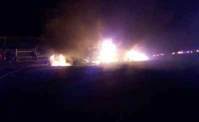 Fire Service Explains What Happened During Onitsha Tanker Inferno