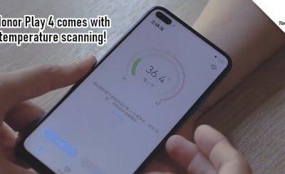 Huawei's Temperature-Taking Smartphone
