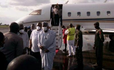 Enugu Airport: First flight lands on new runway (PHOTO)