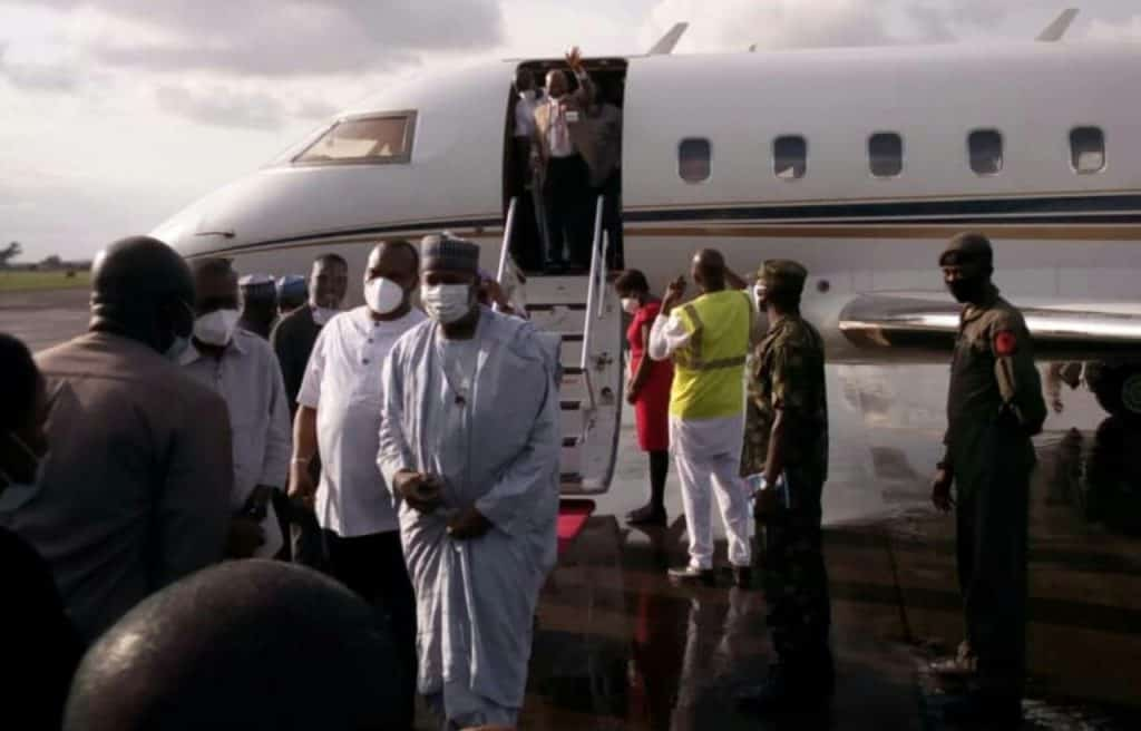 Enugu Airport: First flight lands on new runway (PHOTO)