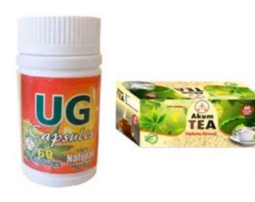Ug Capsules And Akum Tea