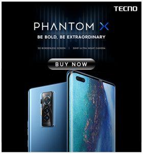 Tecno Phantom X